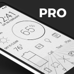 Lines Dark Pro  Icon Pack 3.3.3 APK Patched