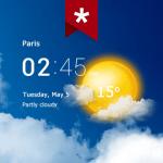Transparent clock and weather  Pro 5.10.2 Premium APK